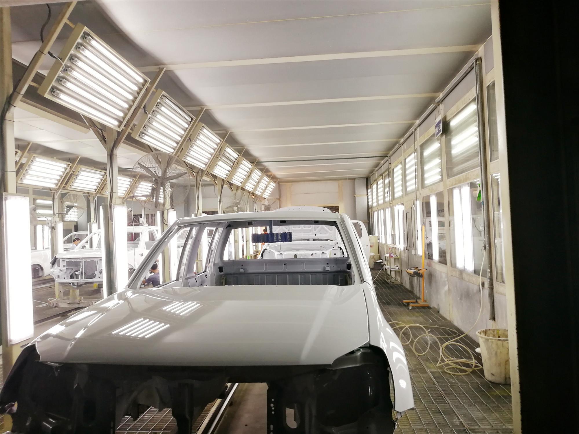山西汽车涂装生产线