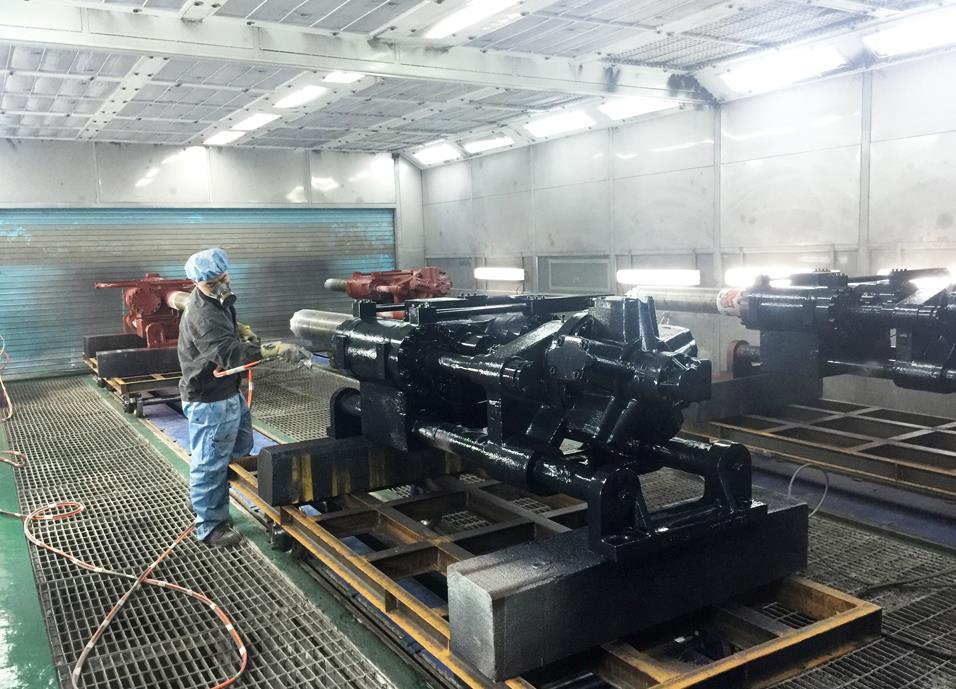 山西机械喷漆设备